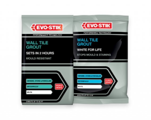 Powdered wall tile grouts
